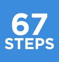 67 steps image