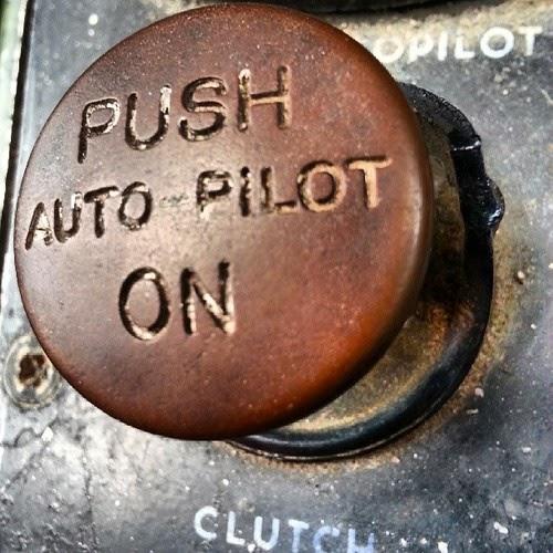 auto pilot button