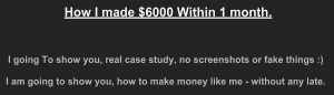 screen capture of the mojo make money system video
