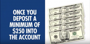 millionaire blueprint requires $250 deposit