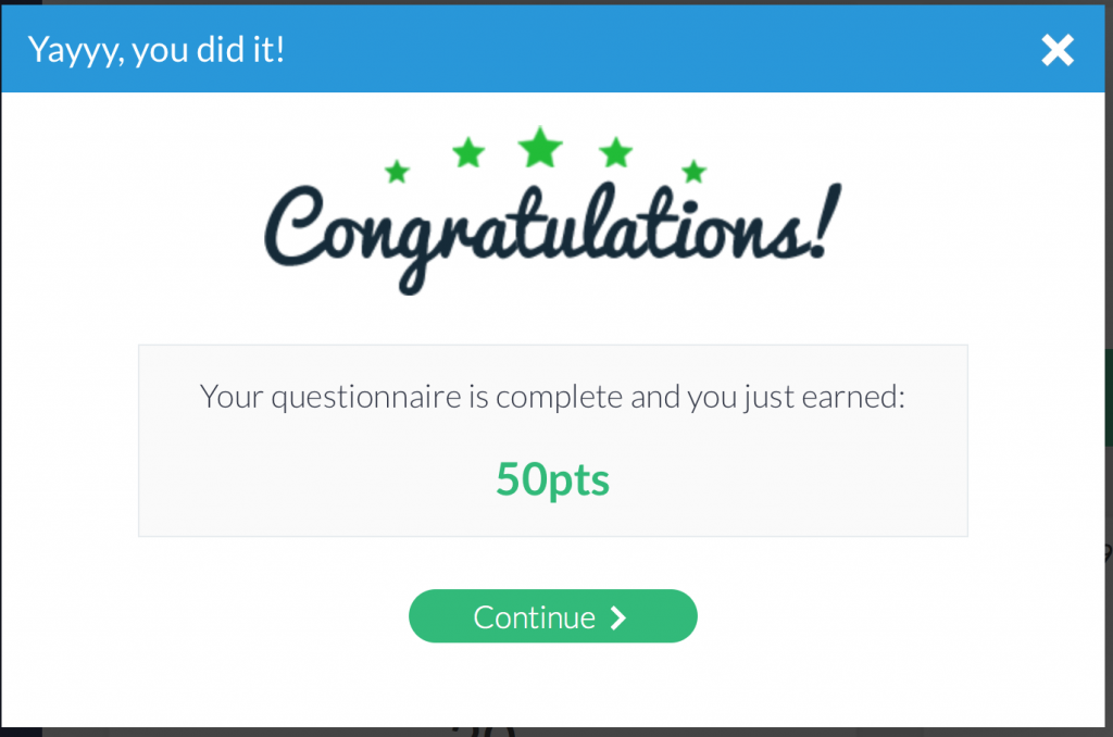 earning points with survey junkie account setup