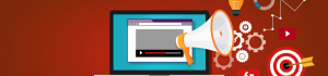 video marketing banner