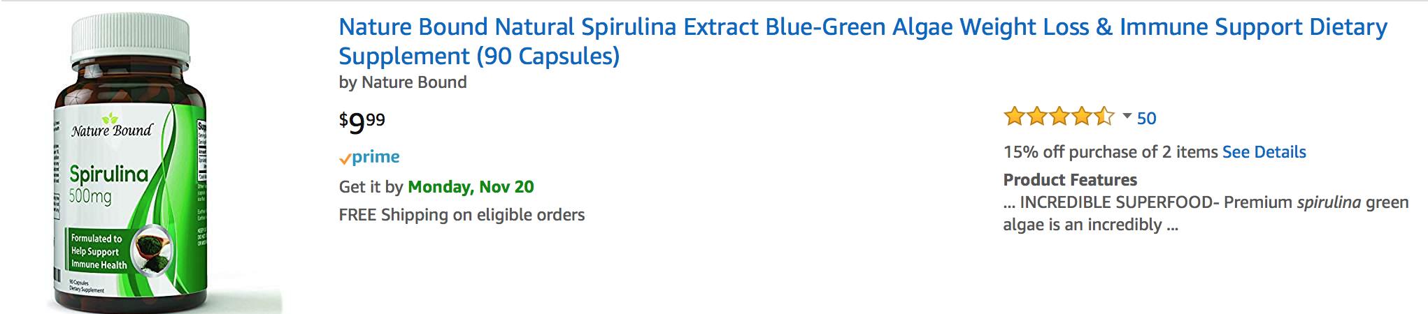 cheap spirulina extract