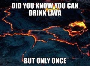 lava joke