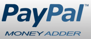 paypal money adder text